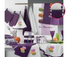 Set 2 prosoape bucatarie Macarons Mineur