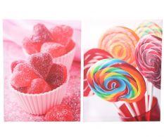 Set 2 tablouri Sweets