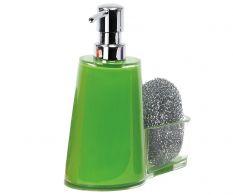 Dispenser sapun cu burete Green 3