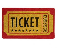 Covoras intrare Ticket