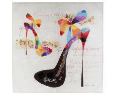 Tablou Fabulous Shoes 100x100cm