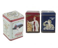 Set 3 cutii Vintage Coke