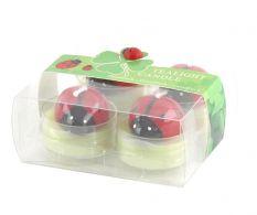 Set de 4 lumanari Ladybug