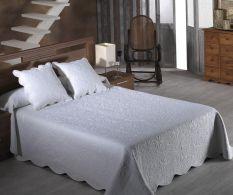 Set de pat Emma Blanco 200x270cm
