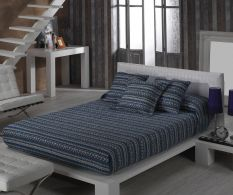Set de pat Inca Azur 270x270cm