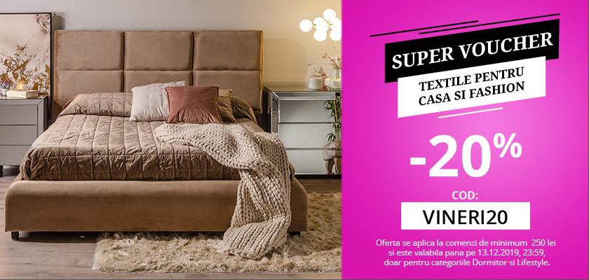 Super voucher - textile&fashio