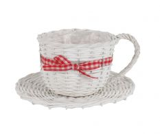 Ghiveci Wooden Cup White