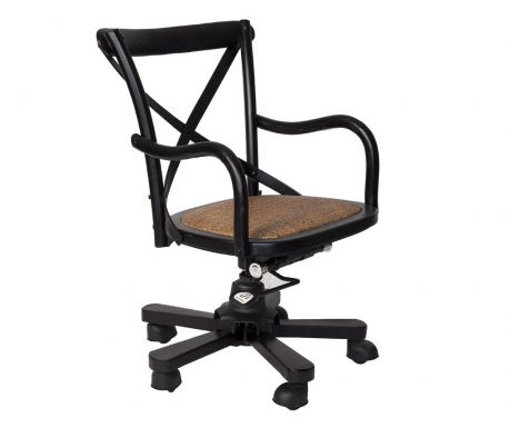 Scaun rotativ Industrial Black