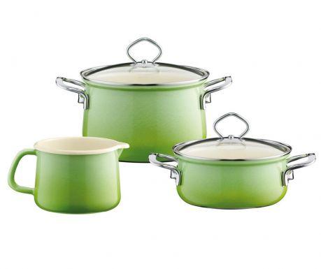 5-dijelni set posuda za kuhanje Smaragd