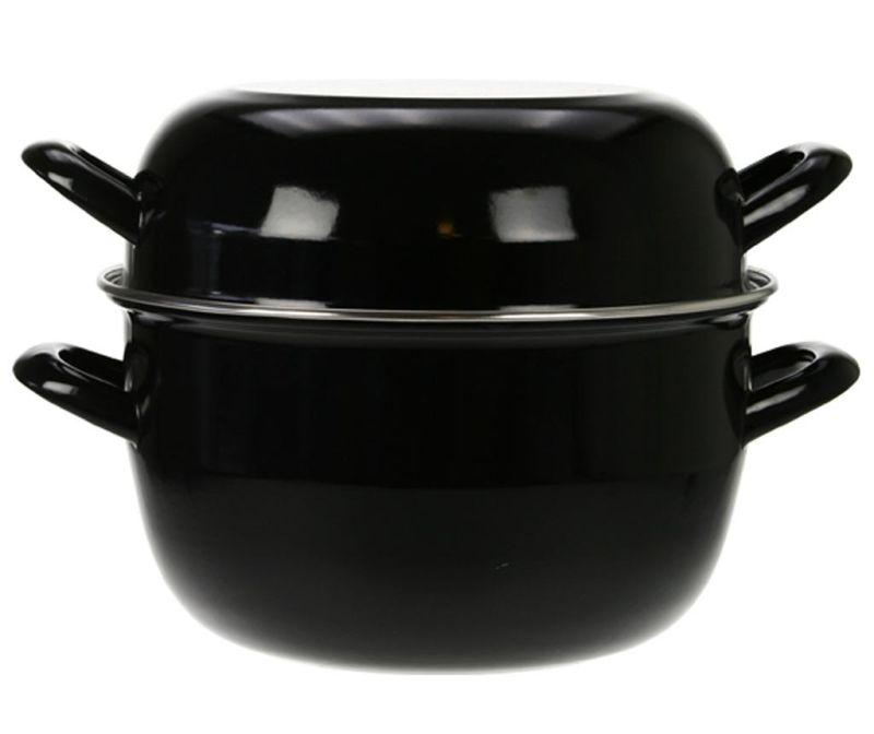 Lonec za kuhanje školjk Mussel Black 5 L