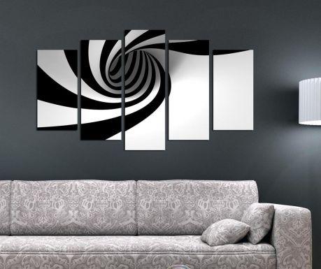 Set 5 tablouri Illusion