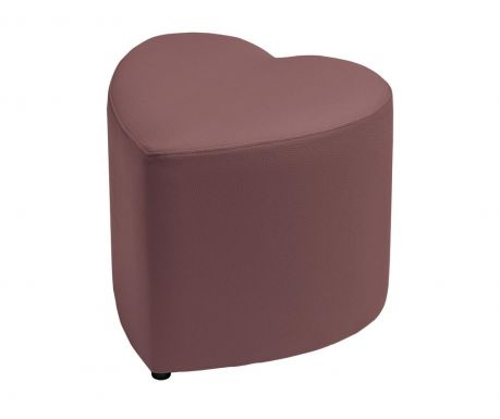 Taboret Tall Heart Brown
