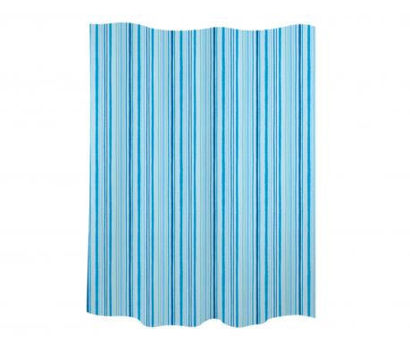 Perdea de dus Stripes Blue 180x200 cm