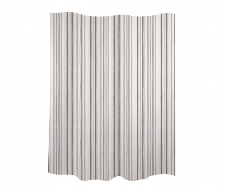 Zavjesa za tuš Stripes Grey 180x200 cm