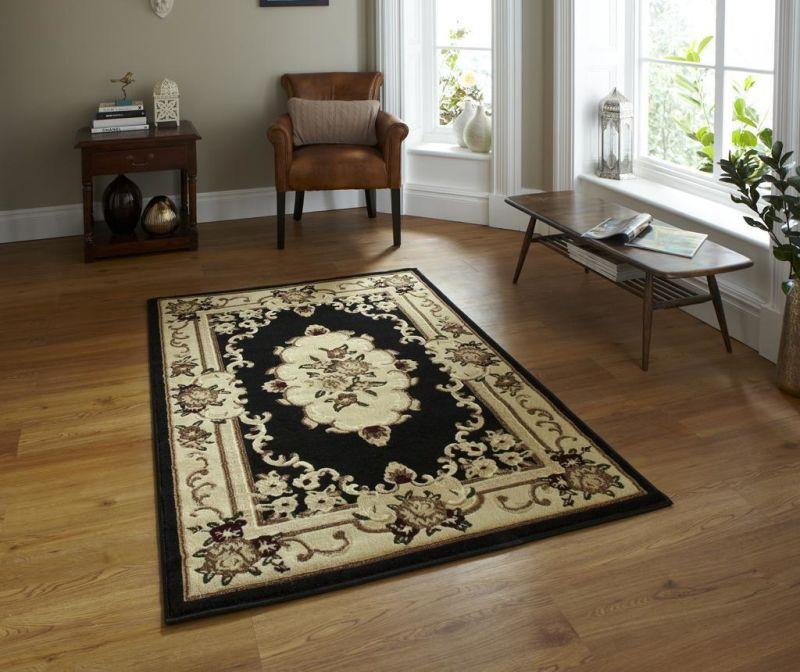 Tepih Marrakesh Black 60x105 cm