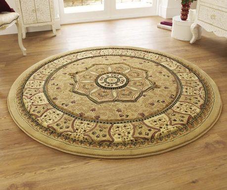 Heritage Beige Circle Szőnyeg 150 cm
