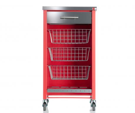 Kuchyňský vozík Chelsea Red