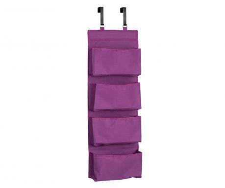 Organizator pentru usa Happy Purple