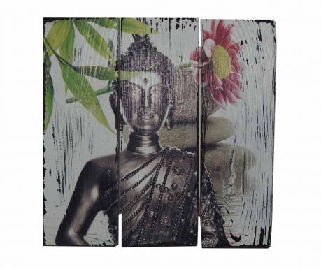 Стенна декорация Buddha Lotus