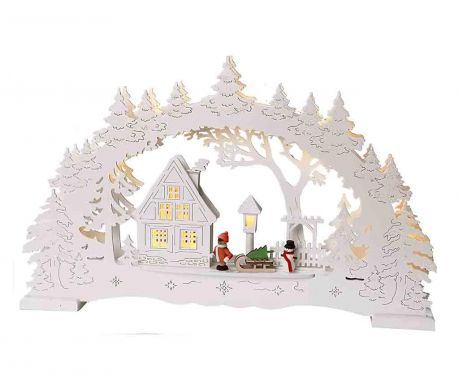 Decoratiune luminoasa White Village