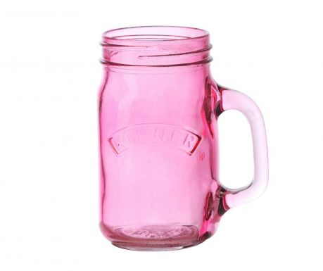 Kubek Kilner Pink 400 ml