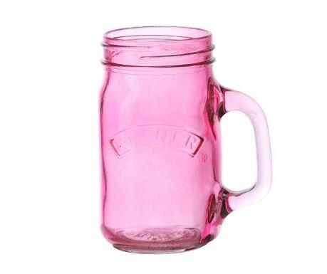 Hrnek Kilner Pink 400 ml