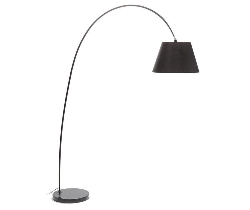 Podlahová lampa Smarty Black