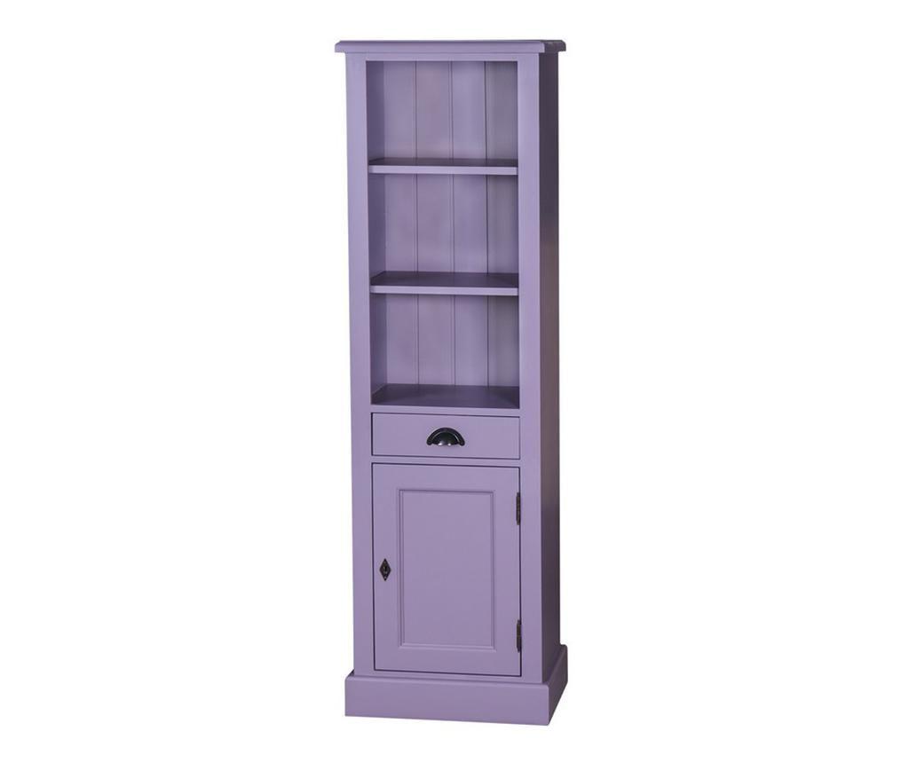 Regal za knjige Tall Tower Purple