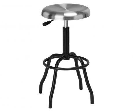 Barová stolička Factory Silver