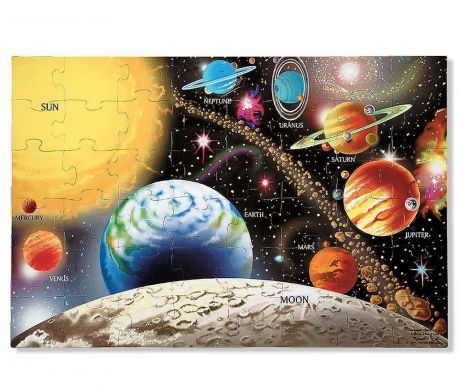 Puzzle 48 piese Solar System