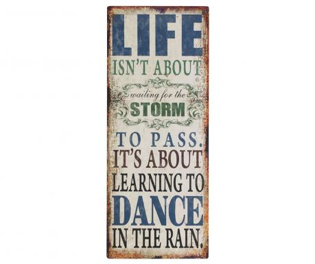 Wall decoration Life is Dance