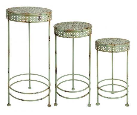 Set 3 stojal za cvetlične lonce Plants