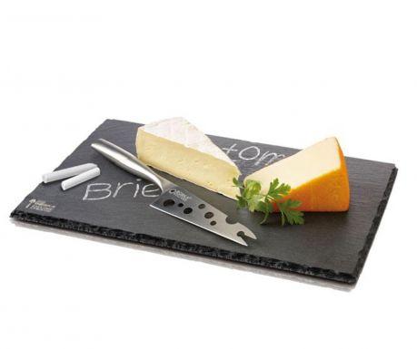 Комплект плато и нож за сирена Monaco
