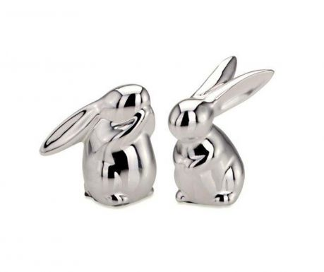 Set 2 decoratiuni Little Rabbits