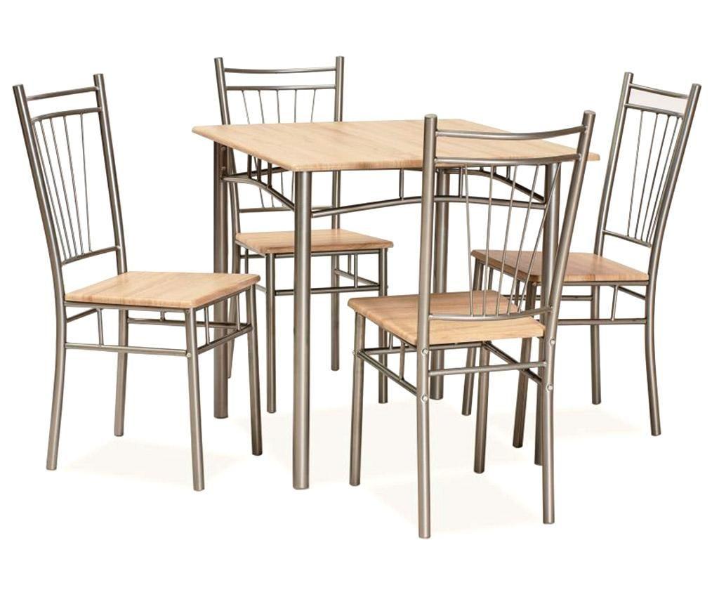 Set masa si 4 scaune Fits