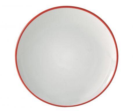 Десертна чиния Cosmos Red