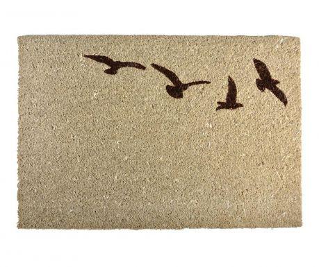 Predpražnik Flying birds Light Brown 40x60 cm