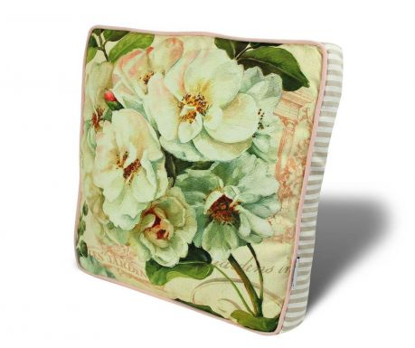 Seat cushion Lovely Flowers 42x42 cm