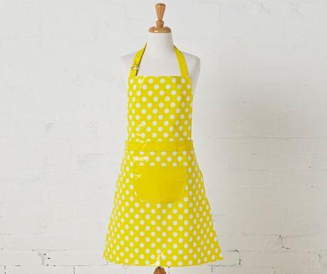 Kuchynská zástera Penny Yellow