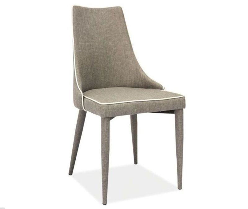 Stolička Leone Cotton Grey