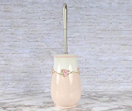 Toaletna ščetka s stojalom Lavinya Pink