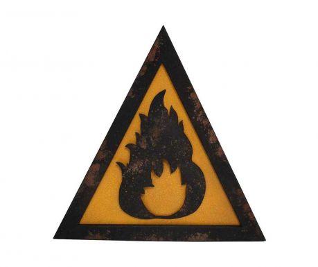Fire Faldekoráció