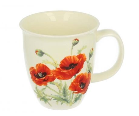 Skodelica Beautiful Poppies 550 ml