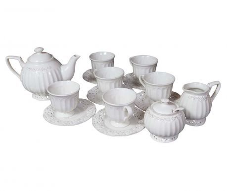 Set of 15 pieces for tea serving Moments