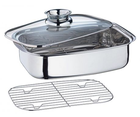 Baking tray with lid Vital
