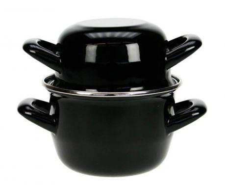 Kozica za kuhanje školjk Mussel Black