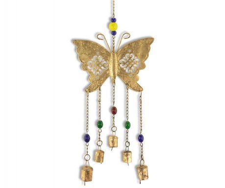 Clopotei de vant Gold Butterfly