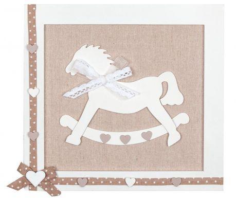 Decoratiune de perete Rocking Horse Ecru