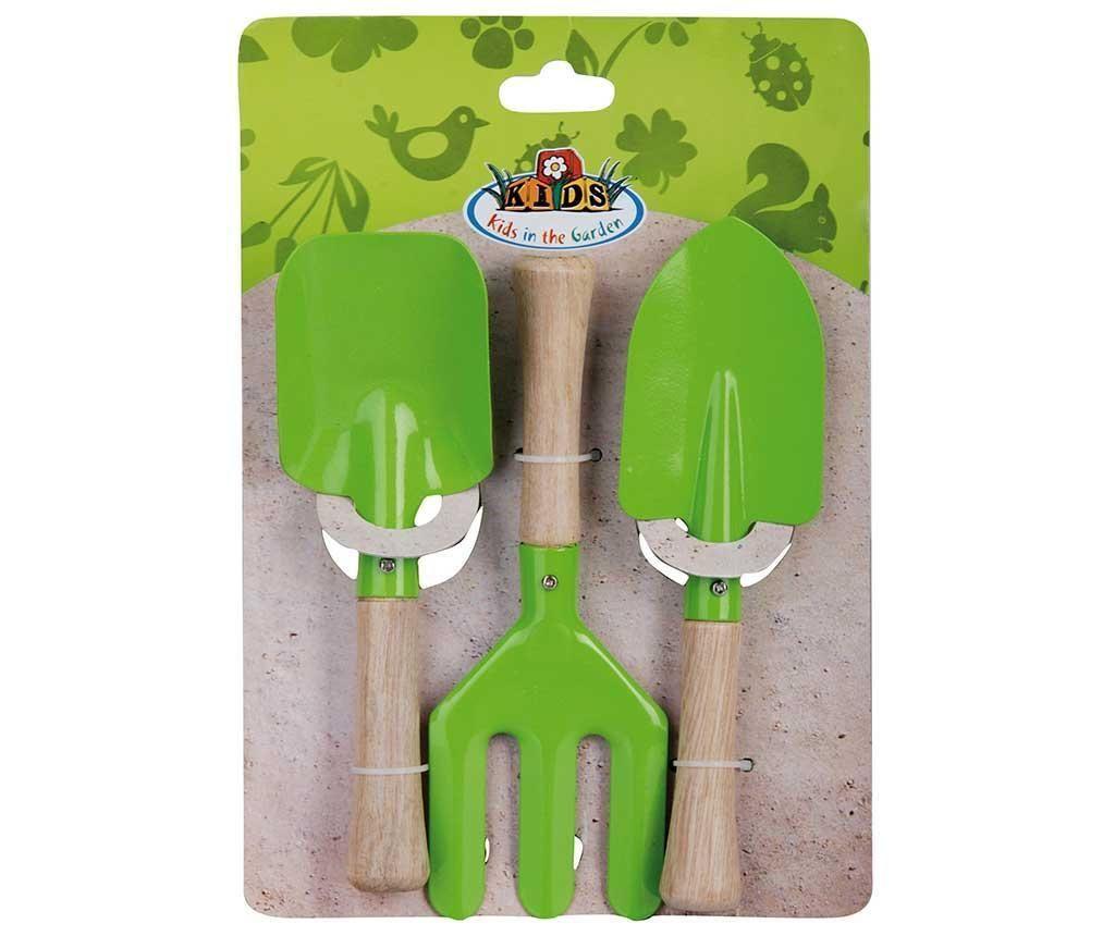 Otroški 3-delni set za vrtnarjenje Handy Green