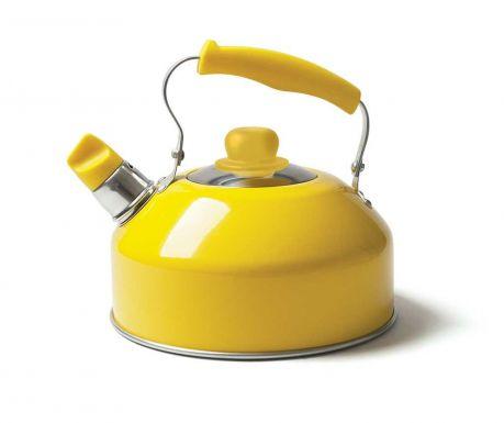 Ceainic cu fluier Pop Yellow 2 L